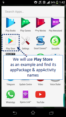 2 Ways to find appPackage and appActivity name of your App